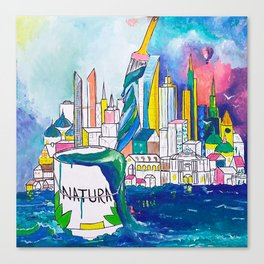 Color Urbanization Canvas Print