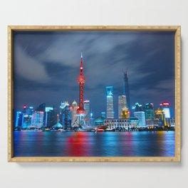 Shangai, China Serving Tray