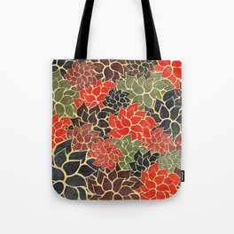 Floral Abstract 17 Tote Bag