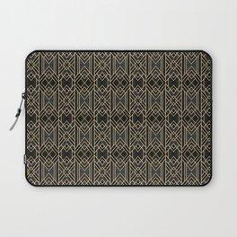 Dark Lines Art Deco Laptop Sleeve
