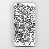 doodle iPhone & iPod Skins featuring Doodle  by Vibe-Art