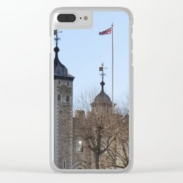Tower of London Clear iPhone Case