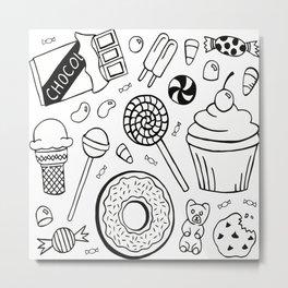 Sweet snacks Metal Print