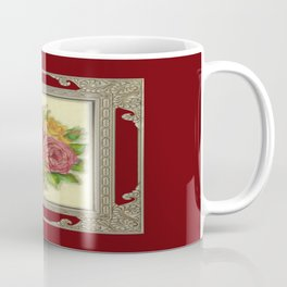 Bunch of Roses red design Coffee Mug