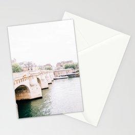 Beautiful Pont Neuf Bridge in Paris, France Stationery Cards