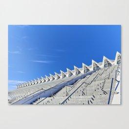 El Museu de les Ciències Príncipe Felipe Canvas Print