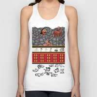 ethnic Tank Tops featuring ETHNIC by CaritoMo