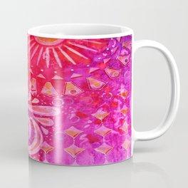 Joy in Orange and Purple Coffee Mug