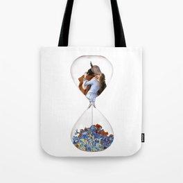 Hourglass of Love (Hayez) Tote Bag