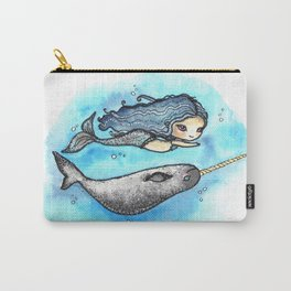 Unicorn of the Sea Carry-All Pouch