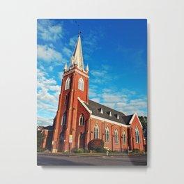 Visitation Catholic Church Metal Print