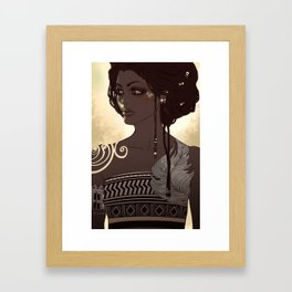 African Queen Framed Art Print