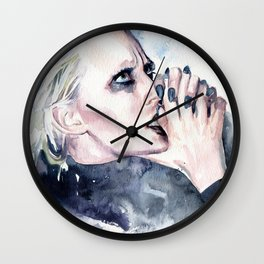 Praying for tough times to end Wall Clock
