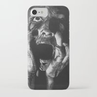 scream iPhone & iPod Cases featuring Scream by Twisty Artist