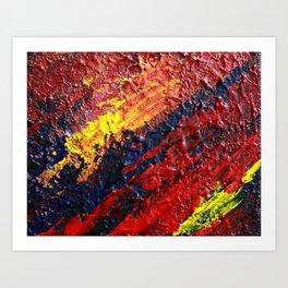 """Cataclysm"" Abstract Art Print"