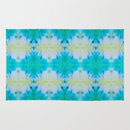 Sun Risen Kaleidoscope Collage Rug
