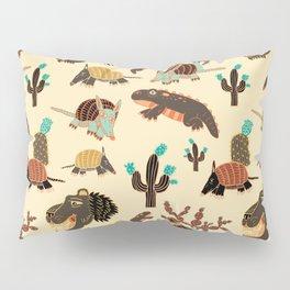 Desert Creatures Pillow Sham