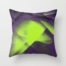 Purple Color Package Throw Pillow