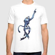 Sea Monkey MEDIUM White Mens Fitted Tee