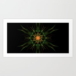 Fire Core Art Print