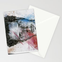 Pretty Noose: Red & Blue Stationery Cards