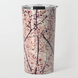 Blizzard of Blossoms Travel Mug