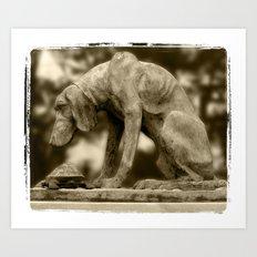 DOG&TURTLE Art Print