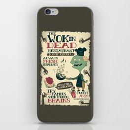 The Wok In Dead (v.2) iPhone Skin