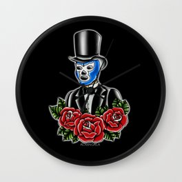 Blue Demon Gent Wall Clock