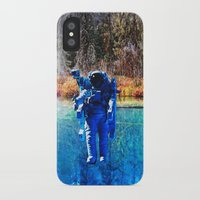 astronaut iPhone & iPod Cases featuring Astronaut by John Turck