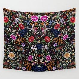 Manton, Spanish flamenco shawl detail Wall Tapestry