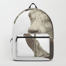 Animalistic city living Backpack