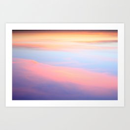 My Candyfloss Sky Art Print