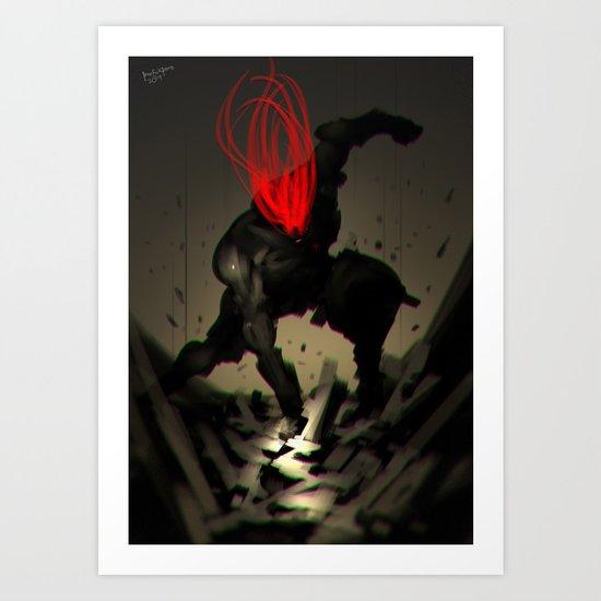 Megaton Punch no.2 Art Print