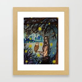 Forest Crone Framed Art Print