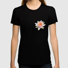 lotus flower polygon T-shirt