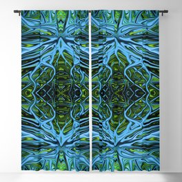 Emerald Electrigrass II by Chris Sparks Blackout Curtain