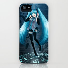 Vocaloid Hatsune Miku iPhone Case