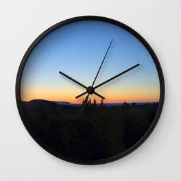 """Sunrise Moon"" Wall Clock"