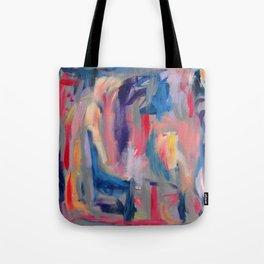 No. 60 Multicolour Modern Art Abstract Tote Bag