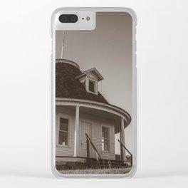 Hurd Round House, Wells County, North Dakota 26 Clear iPhone Case