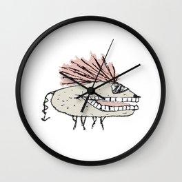 Monster Rat Hand Draw Illustration Wall Clock