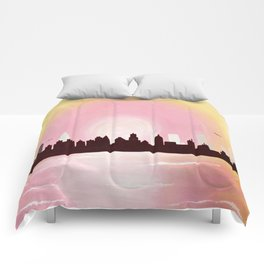 A Metro Morning Comforters