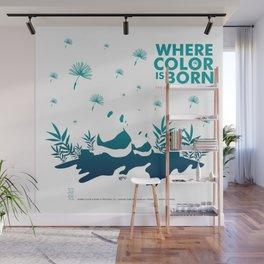 "Köpke's ""Where Color is Born - The Great Panda Adventure"" Wall Mural"