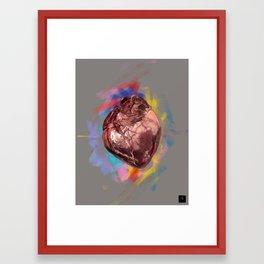 Real Love Framed Art Print