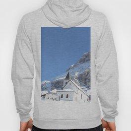 Church in the snow Hoody