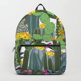 Cactus field Backpack
