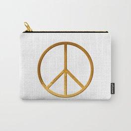 P E A C E - Symbol Carry-All Pouch