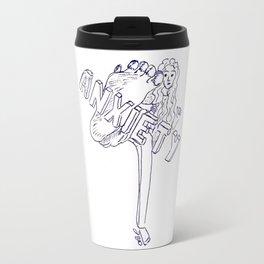 Fighting anxiety Travel Mug