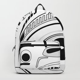 Black and White Camera Backpack